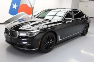 2016 BMW 7-Series 750I XDRIVE AWD PANO ROOF NAV HUD