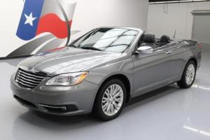 2011 Chrysler 200 Series LIMITED CONVERTIBLE HTD SEATS NAV