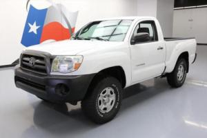 2010 Toyota Tacoma REGULAR CAB 5-SPEED CD AUDIO