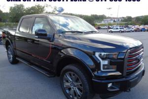 2016 Ford F-150 New 2016 Crew Lariat 4X4FX4 Tech Package Sport 4wd