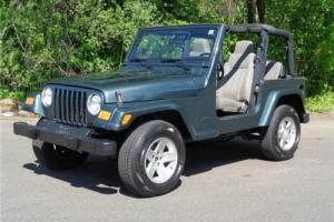 2003 Jeep Wrangler SE HARD TOP CONVERTIBLE SUMMER FUN COLD A/C