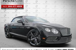 2016 Bentley Continental GT 2dr Conv W12 Photo