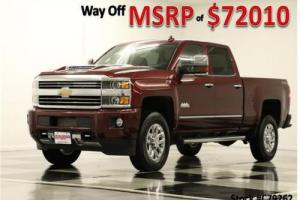 2017 Chevrolet Silverado 3500 High Country