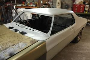 HOLDEN HQ RARE 350 LS MONARO COUPE 2 door rolling shell  Project