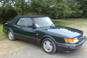 Classic Saab 900 Turbo S Convertible