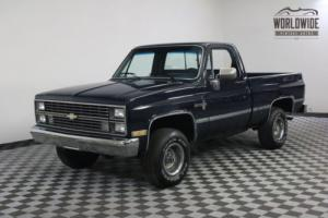 1984 Chevrolet SCOTTSDALE SHORT BED 4X4 COLLECTOR GRADE V8 MANUAL Photo