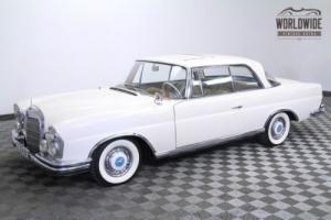 1963 Mercedes-Benz 220SE Restored. Very Rare. 4-Speed Manual. Sunroof!