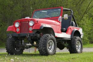 1980 Jeep CJ -LIFTED- 4WD- GREAT SUMMER CRUISER-FROM CALIFORNIA