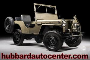 1947 Jeep CJ Fully Restored Excellent Example!