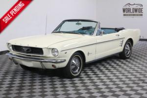 1966 Ford Mustang CONVERTIBLE 289 V8 AUTOMATIC RALLY PAC
