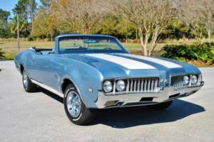 1969 Oldsmobile 442 Convertible Tribute 455 V8 Factory Air! Gorgeous!