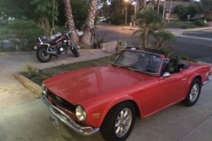1969 Triumph TR-6 Photo