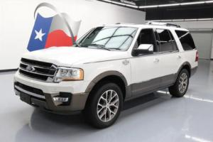 2015 Ford Expedition KING RANCH ECOBOOST NAV 20'S