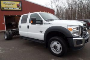2014 Ford F-550 Crew Cab and Chassis 4x4