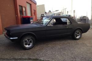 1966 MUSTANG COUPE L.H.D NO RESERVE AUCTION