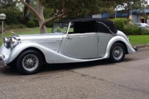 Jaguar Mark IV Drophead, Mark 4 Convertible, 3 1/2 litre