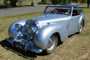 1949 Triumph Roadster 2 litre Convertible Photo