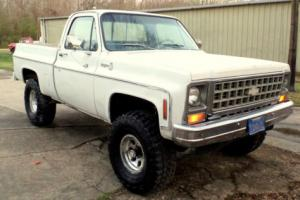 1980 Chevrolet C-10 K10 K15 4X4 TRUCK CHEVY GMC OTHER SIERRA SILVERADO Photo