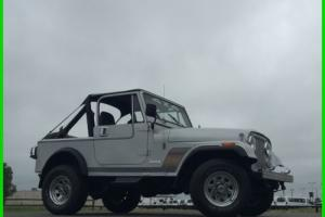 1986 Jeep CJ Photo