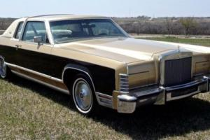 1979 Lincoln Continental Town Car/ Town Coupe Photo