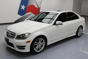 2013 Mercedes-Benz C-Class C250 SPORT SEDAN SUNROOF ALLOYS