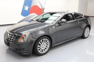 2014 Cadillac CTS 3.6 COUPE LEATHER PHANTOM GRAY