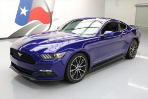 2015 Ford Mustang ECOBOOST AUTO REAR CAM 19'S