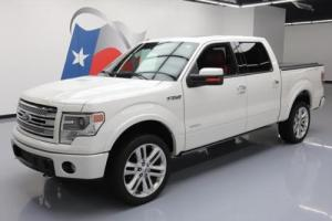 2013 Ford F-150 LTD CREW 4X4 ECOBOOST SUNROOF NAV 22'S!
