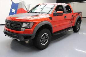 2011 Ford F-150 SVT RAPTOR 6.2L CREW 4X4 SUNROOF NAV