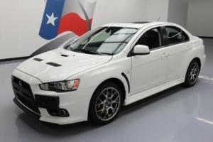2011 Mitsubishi Evolution MR AWD SUNROOF LEATHER