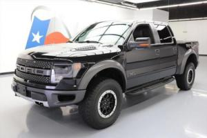 2014 Ford F-150 SVT RAPTOR CREW 4X4 SUNROOF NAV