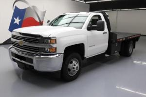 2015 Chevrolet Silverado 3500 REGULAR CAB FLAT BED DRW