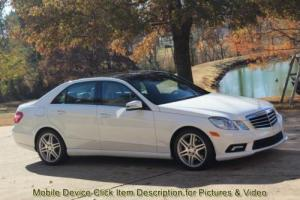 2011 Mercedes-Benz E-Class E 350 Luxury 4MATIC AWD SUNROOF NAVIGATION