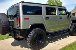 2003 Hummer H2 Leather Sunroof $4k Extra Lift Wheels Tires TV Etc