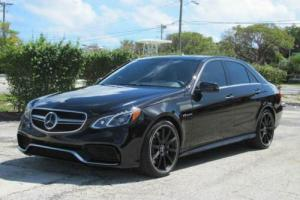 2014 Mercedes-Benz E-Class E 63 AMG AWD 4MATIC 4dr Sedan