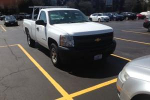 2012 Chevrolet Silverado 1500 regular cab 8' bed