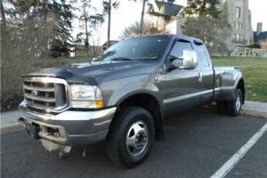 2002 FORD CREW CAB DUALLY Super Duty F-350 DRW XLT