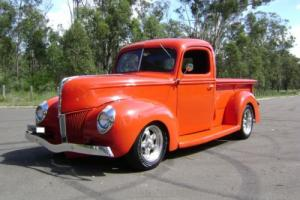 "1941 FORD PICKUP 350 SBC 700R 9"" MUSTANG II IFS FRONT DISC BRAKES FULL NSW REGO Photo"
