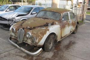 JAGUAR MARK 1  3.4,  1957, 4 WHEEL DISC BRAKE