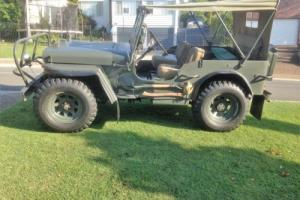 1942 Willys Jeep Fully Restored Photo