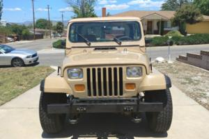 1988 Jeep Wrangler Photo