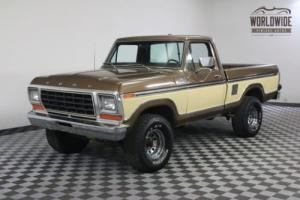 1979 Ford F150 RANGER 4X4 ORIGINAL PAINT AZ TRUCK COLLECTOR
