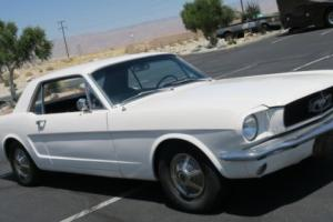 1965 Ford Mustang 302 V8 FACTORY BUILT IN SAN JOSE, DISC BRAKES, PON