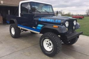 1981 Jeep CJ SCRAMBLER CJ8 Photo