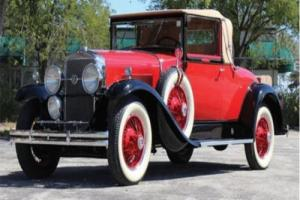 1929 LaSalle 328 Convertible Coupe -- Photo