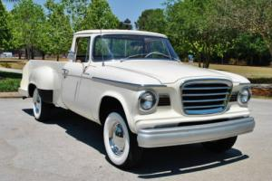 1961 Studebaker Champ Pickup V8 3-Speed A/C Simply Stunning!