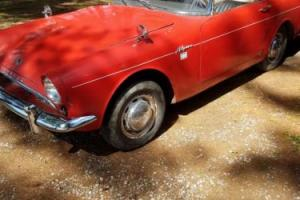 1963 Sunbeam Alpine Photo