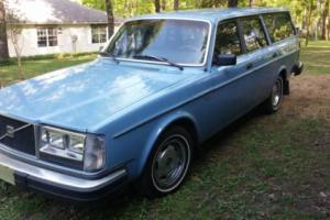 1981 Volvo DL 4 Cyl. Station Wagon