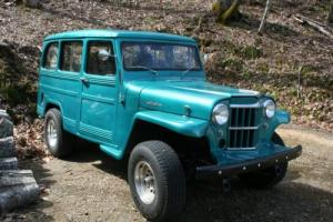 1963 Willys Station Wagon 4WD Photo