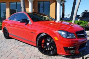 2014 Mercedes-Benz C-Class 2dr Coupe C 63 AMG RWD